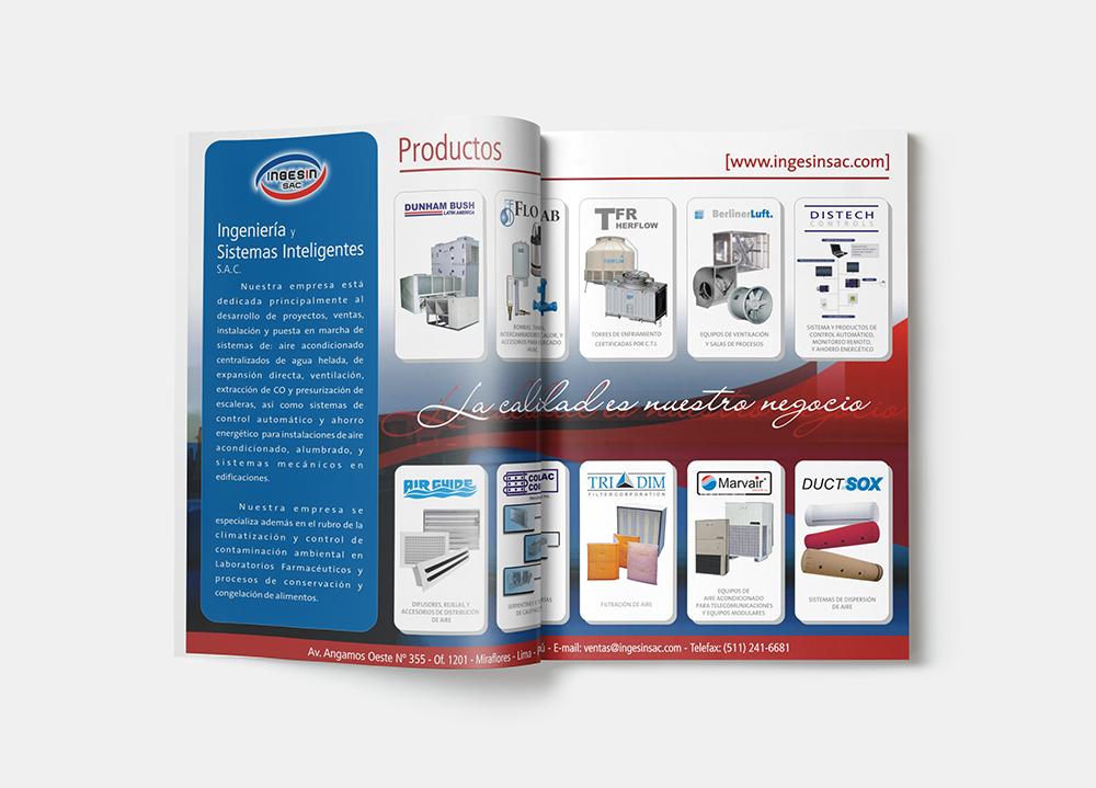 Brochures Ingesin S.A.C.